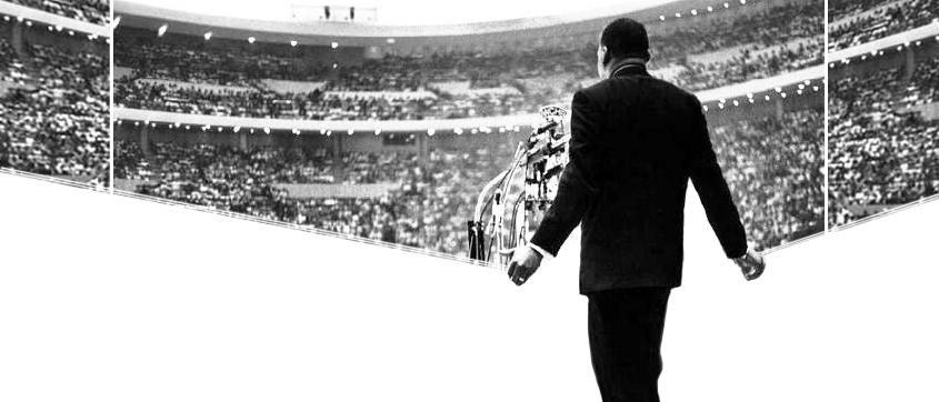 MLK at Detroit Stadium