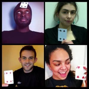 SwatDeck founders, clockwise from top-left: Isaac Opoku, Raven Bennett, Brennan Klein, Emma Kates-Shaw