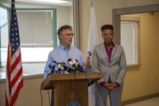 Cook County Sheriff Tom Dart announces Dr. Nneka Jones Tapia as Executive Director